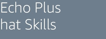 Echo Plus hat Skills
