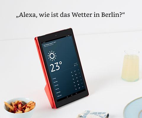 Alexa wie ist das Wetter in Berlin