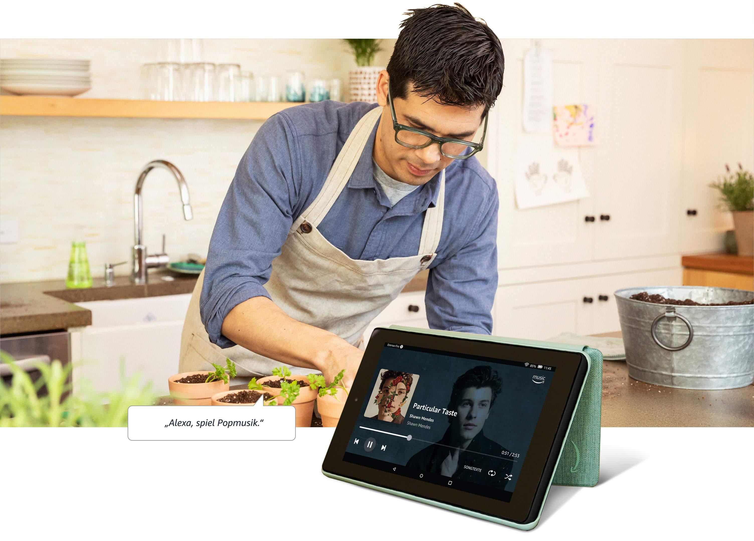 Fire 7 Tablet 7 Zoll Display 16 Gb Schwarz Mit Werbung Amazon Devices