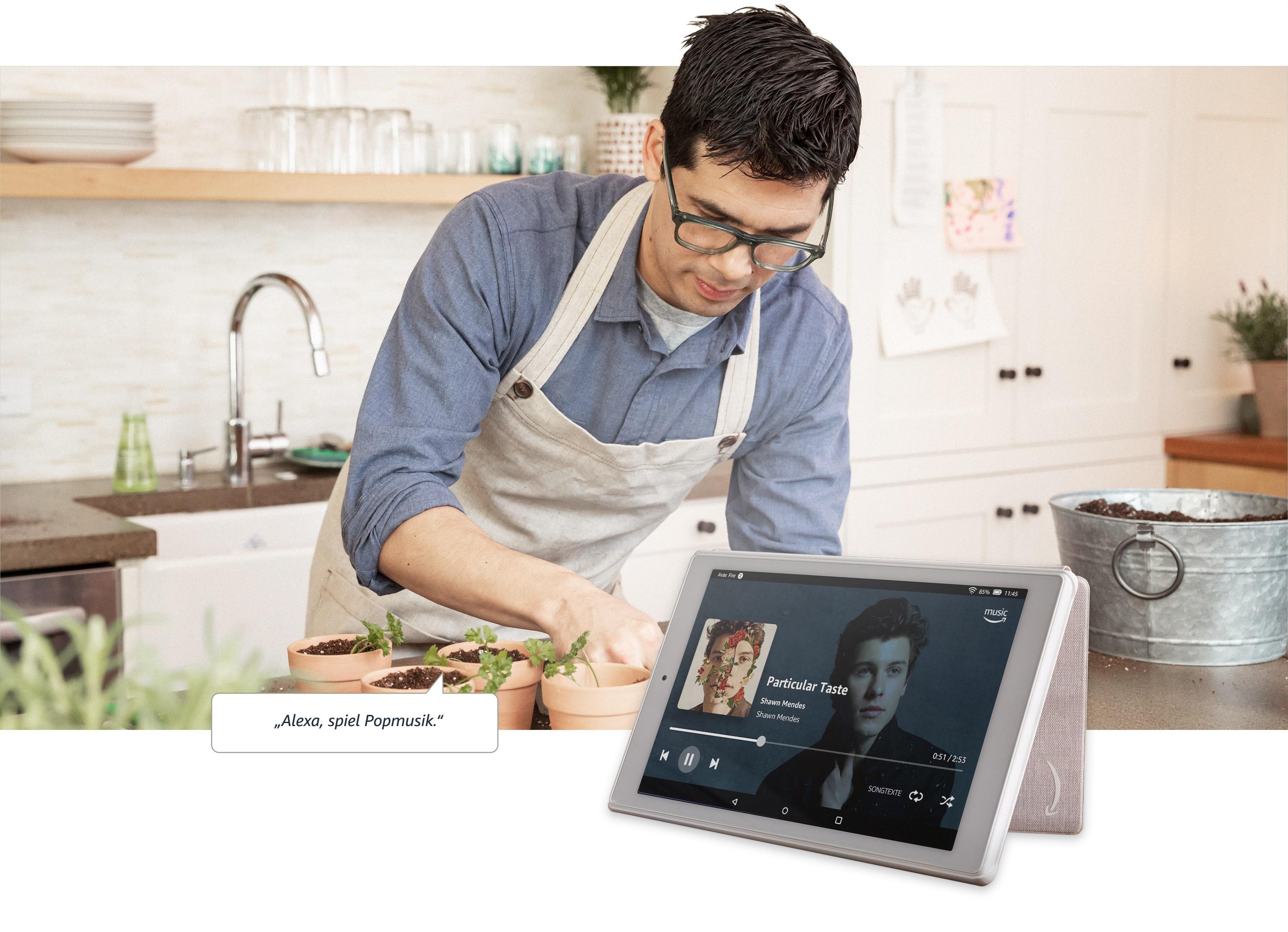 Fire Hd 10 Tablet 10 1 Zoll Großes Full Hd Display 1080p 32 Gb Schwarz Mit Werbung Vorherige Generation 9 Amazon Devices