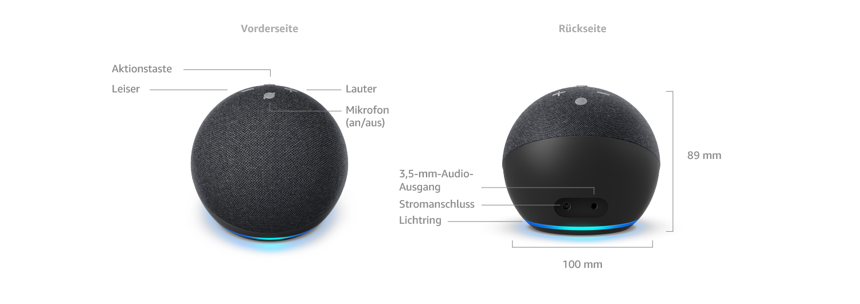 Der Neue Echo Dot 4 Generation Weiß Tp Link Tapo Smart Lampe E27 Funktionert Mit Alexa Alle Produkte