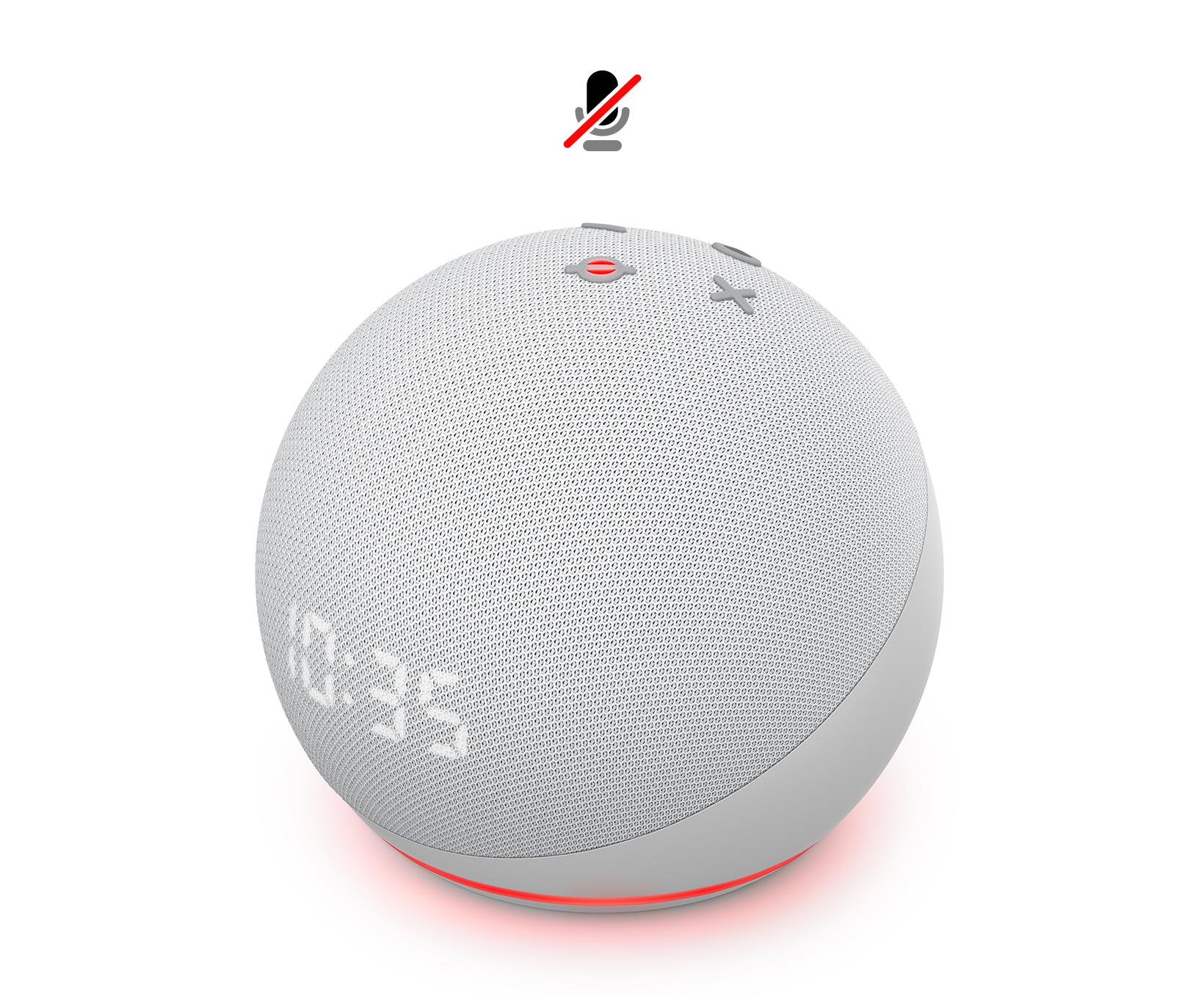 Der Neue Echo Dot 4 Generation Mit Uhr Weiß Tp Link Tapo Smart Lampe E27 Funktionert Mit Alexa Alle Produkte
