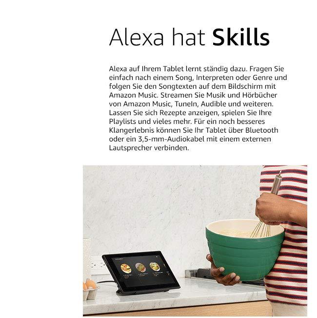 Alexa hat Skills''