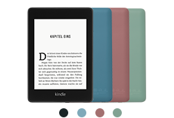 Kindle Jetzt Mit Integriertem Frontlicht Mit Werbung Schwarz Amazon Devices