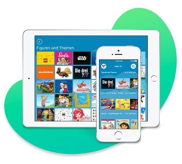 Amazon Kids+ auf iOS