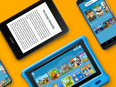 Amazon Kids+ Verwendung auf mehreren Geräten
