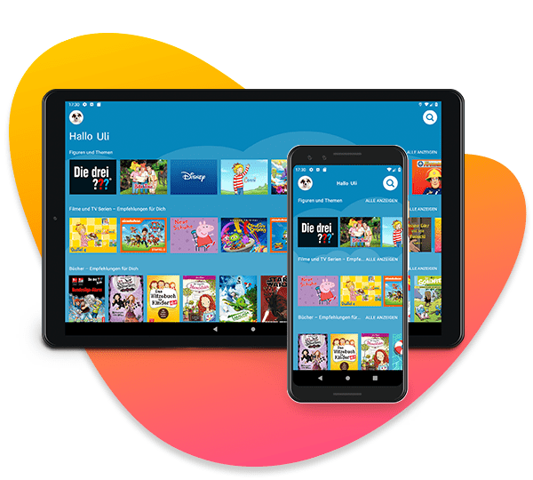 Amazon Kids+ auf Android