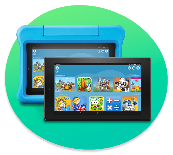 Amazon Kids+ für Fire KidsEdition-Tablets