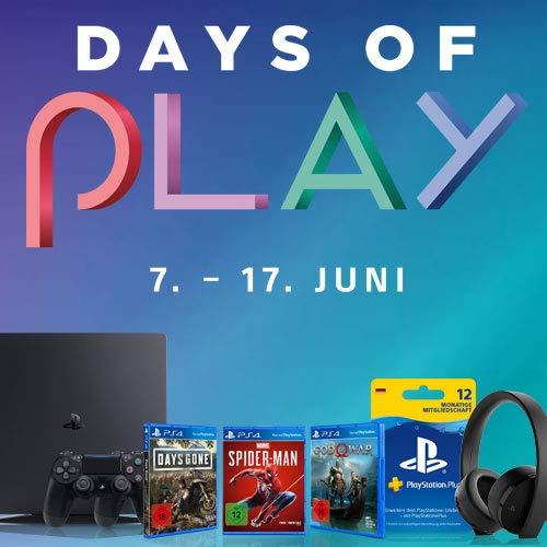 Sony PlayStation Days of Play - PlayStation Produkte stark reduziert