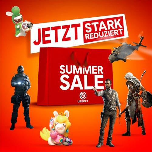 Summer Sale: Ubisoft Titel stark reduziert