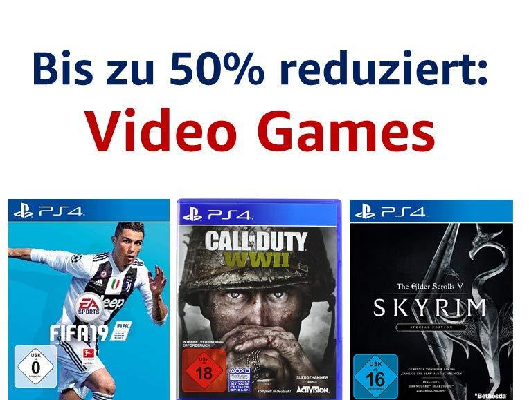 Bis zu 50% reduziert: Video Games