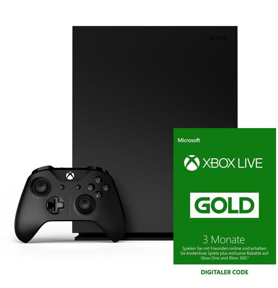 Nur 11,99€ für Ihre Xbox Live Gold Mitgliedschaft wenn Sie eine Xbox Konsole oder einen Controller kaufen