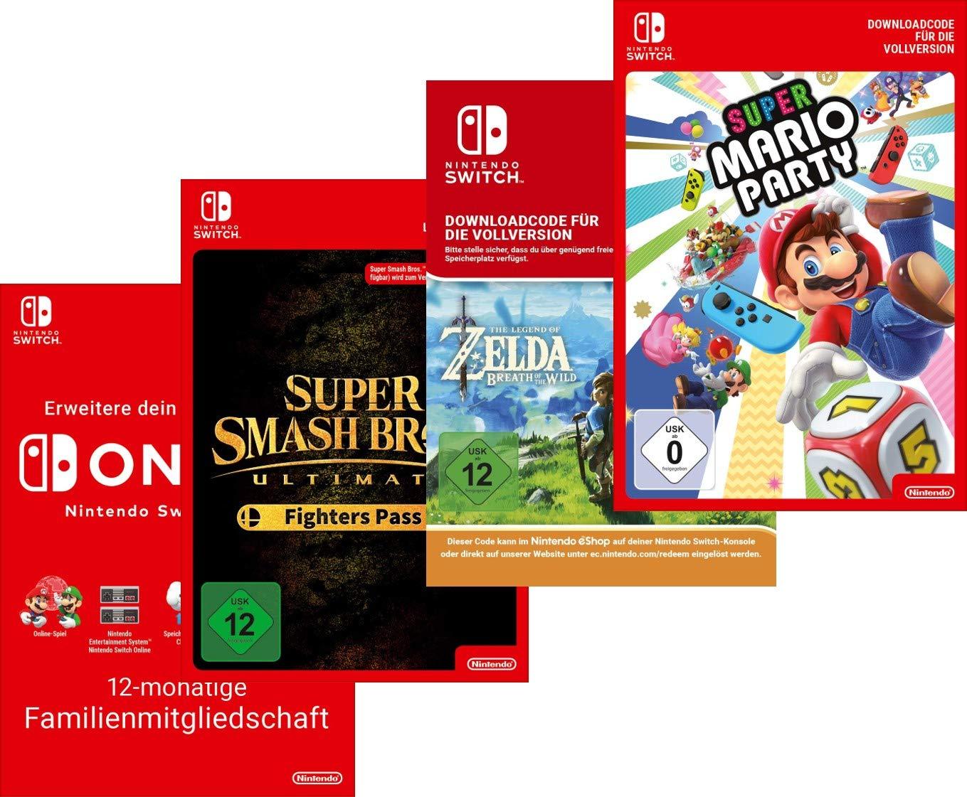 Bis zu 25% Rabatt: Switch Games Top-Seller, DLCs & Online Mitgliedschaft