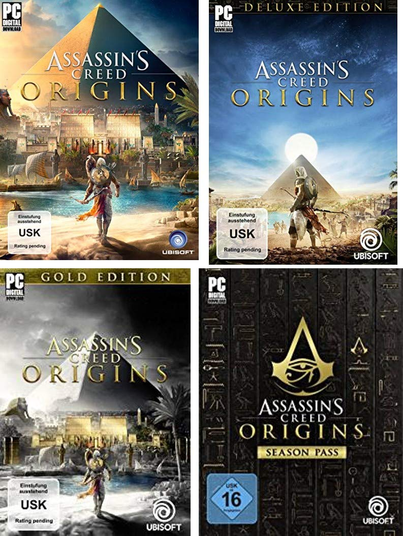 Bis zu 70% reduziert: Assassin's Creed Origins - Games & DLC - PC Download