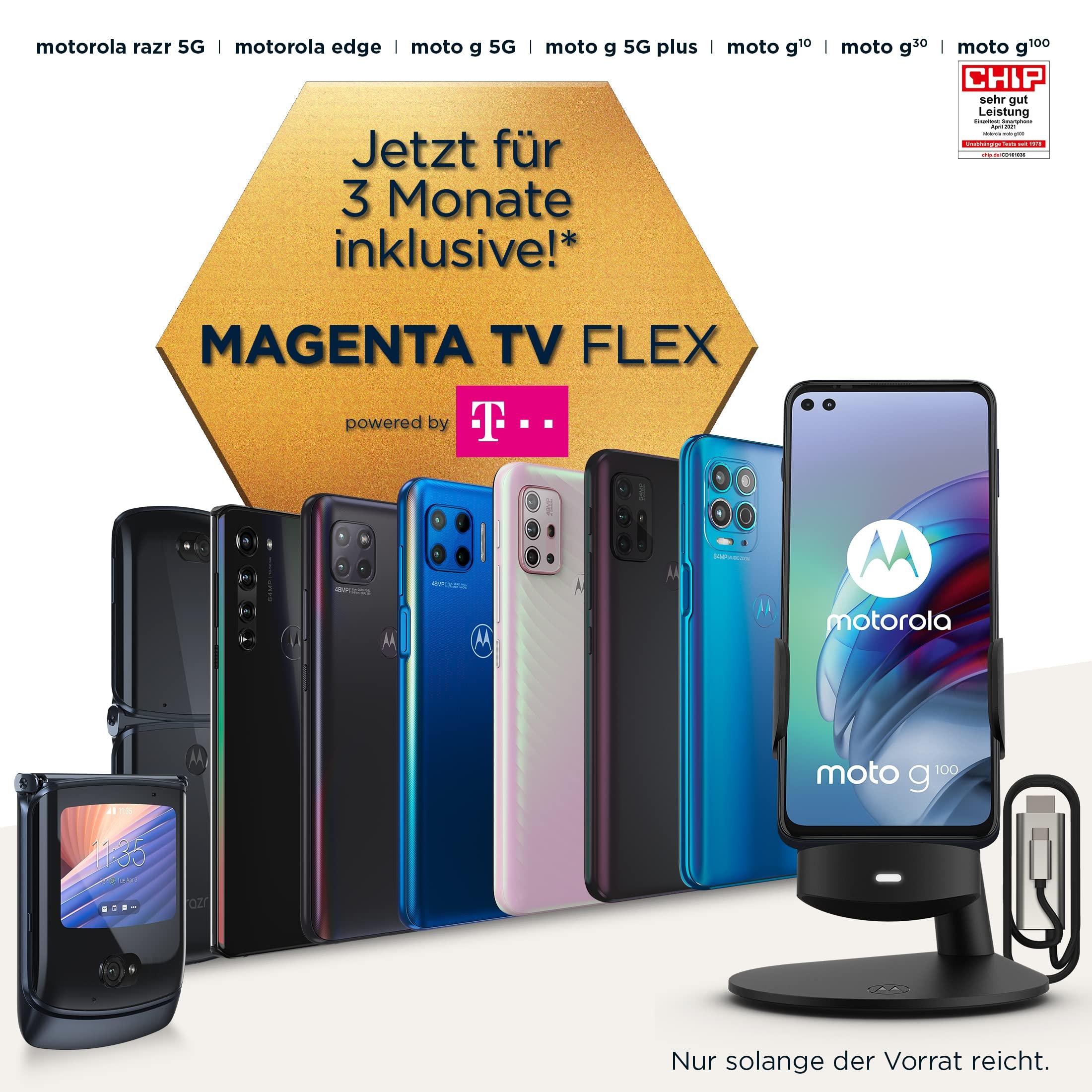Jetzt Motorola Aktionsgerät kaufen und Voucher für 3 Monate MagentaTV Flex erhalten