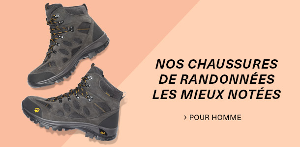 Les chaussures de randonnée homme avec les mieux notées