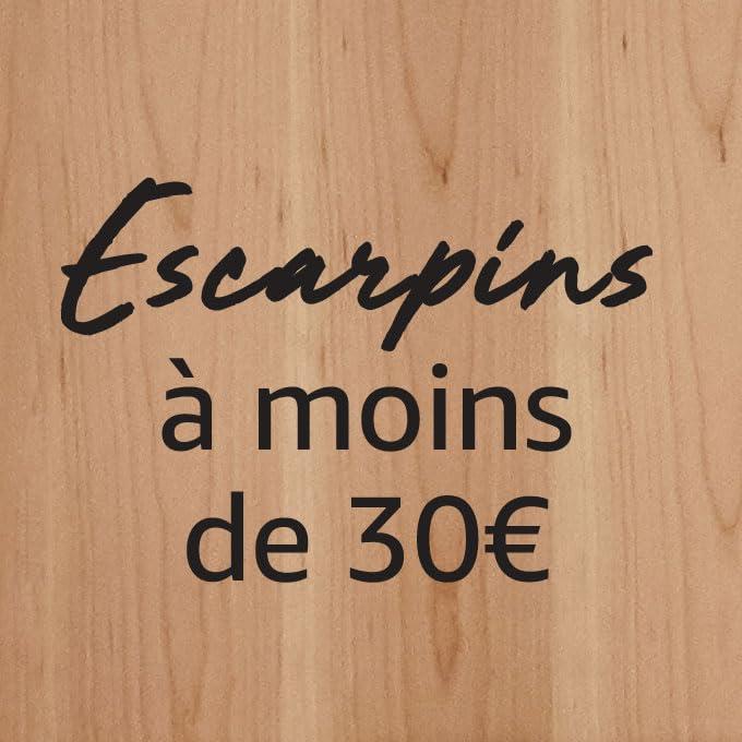 Escarpins à moins de 20€