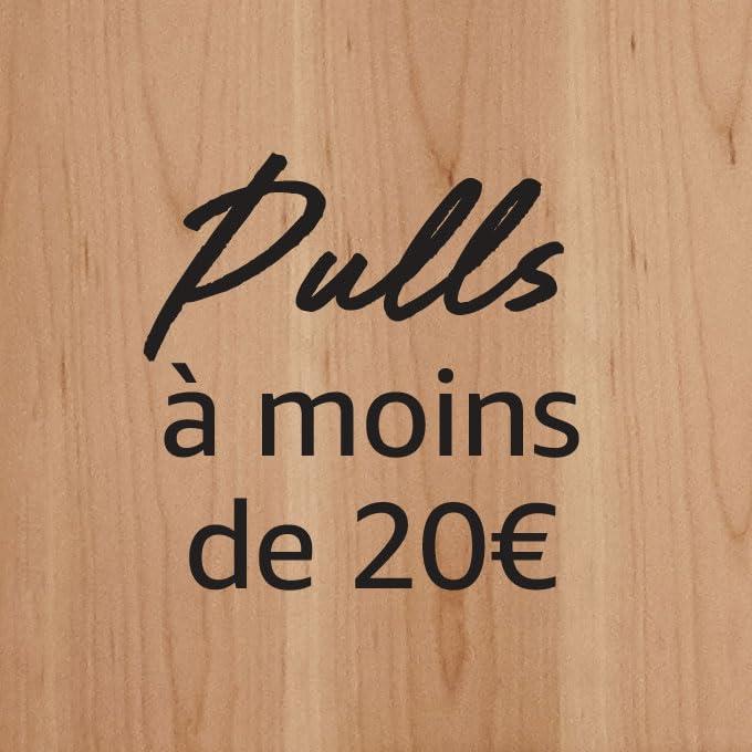 Pulls à moins de 20€