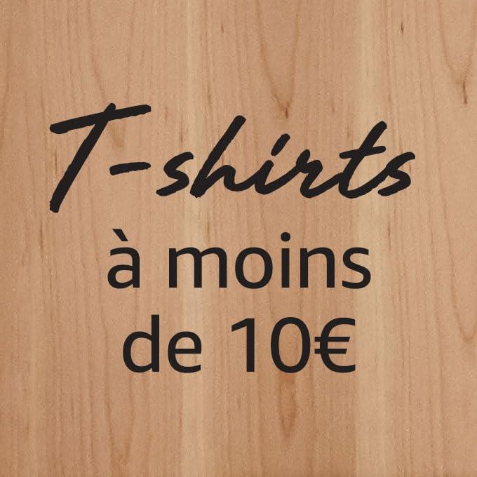 T-shirts à moins de 10€