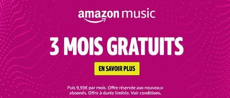 3 mois de musique gratuits