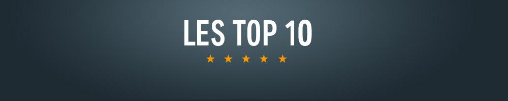 Les Top 10. Les meilleurs livres audio.