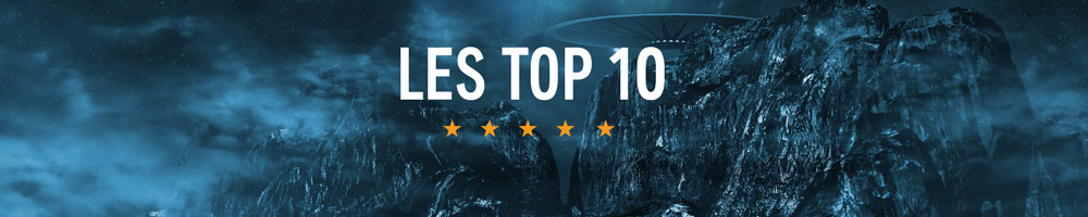 Les Top 10 : Explorez le meilleur de la science fiction et fantasy en audio