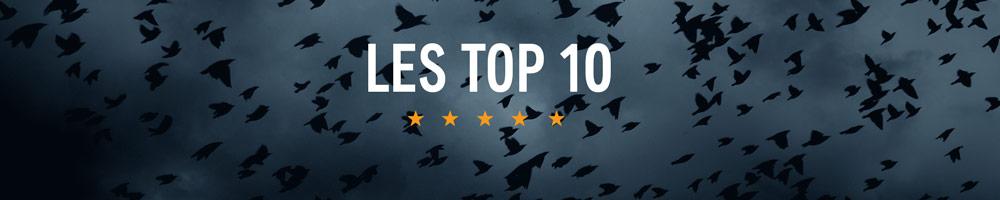 Les Top 10 : tremblez avec les meilleurs thrillers et policiers en audio