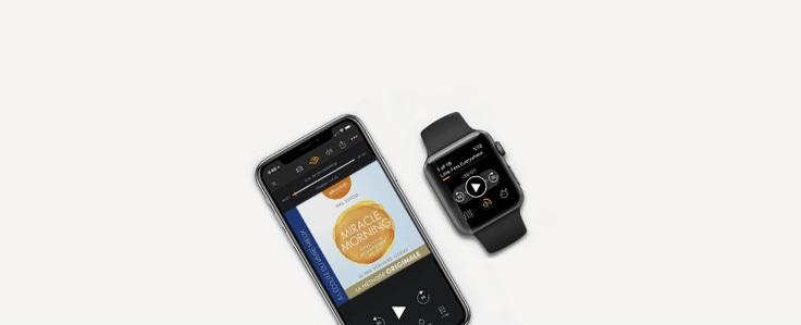 Audible est maintenant disponible sur Apple Watch ! Où que vous soyez, vos livres audio sont toujours avec vous.