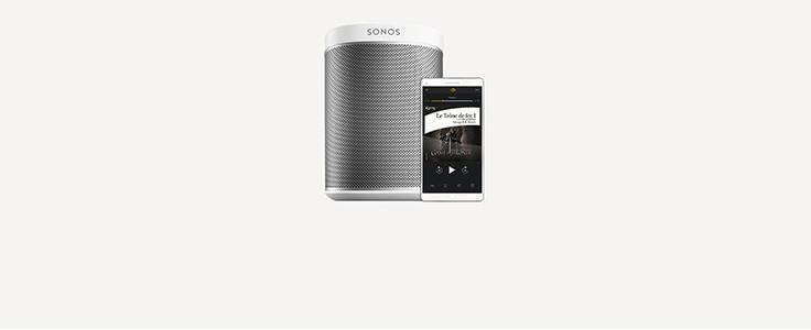 Ecoutez vos livres audio sur vos enceintes Sonos