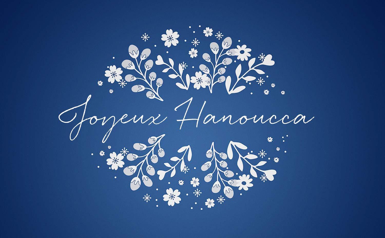 Carte Joyeux Hanoucca