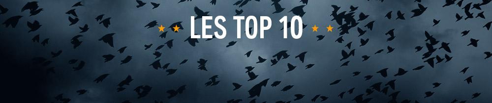 TOP 10 : LES MEILLEURS Thrillers et Policiers