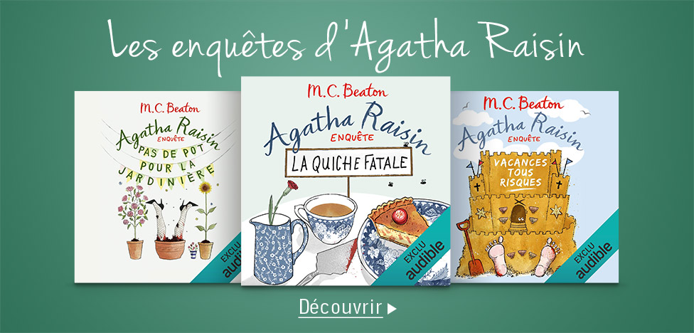 Aghata Raisin sur Audible.
