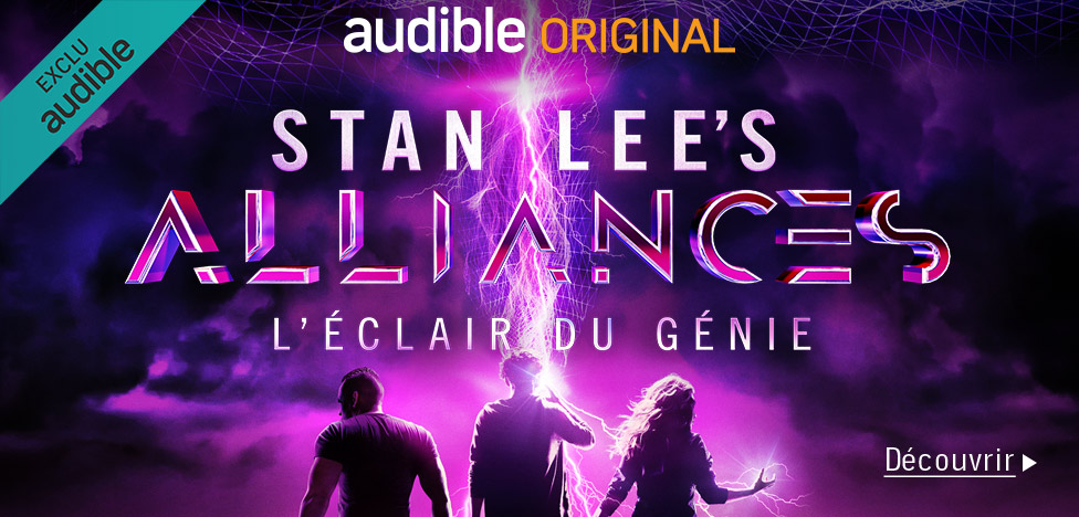 Stan Lee's Alliances: A Trick of Light on Audible