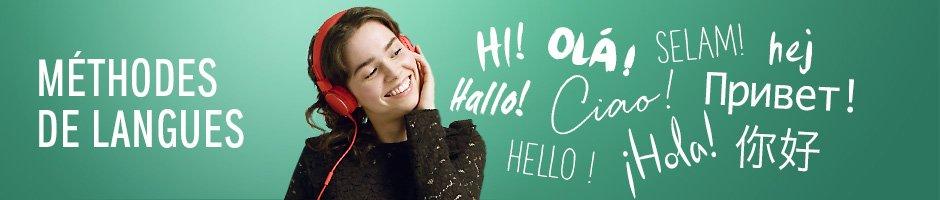Méthodes de langues: apprenez avec les livres audio. Hello! Hallo! Salam!