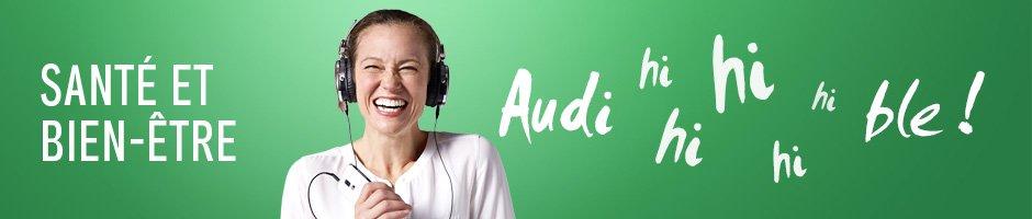 Livres audio Santé et bien-être. Audi hi hi hi hi ble !