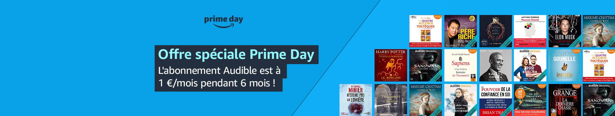 Offre promotionnelle Amazon Prime Day