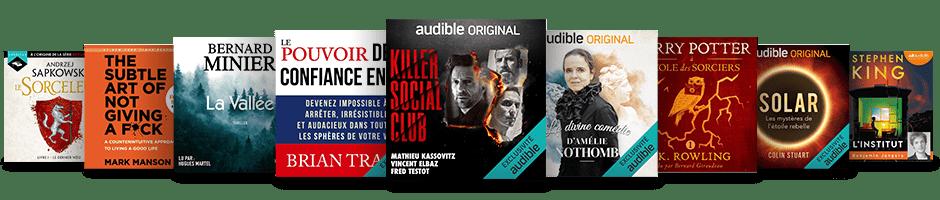 Les meilleurs livres audio