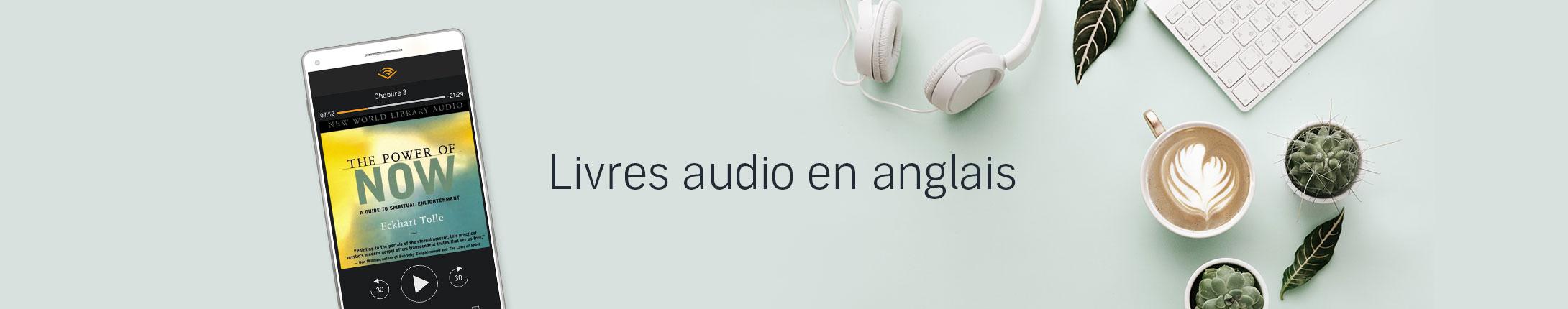 Livres audio en anglais - Le coin des Audiobookworms * Accros d'audio anglophones