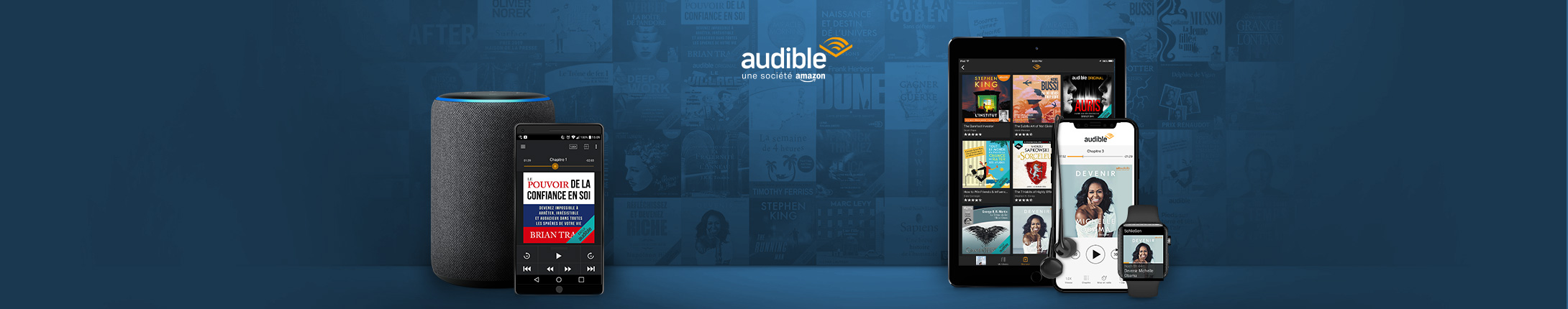 Télécharger l'application Audible