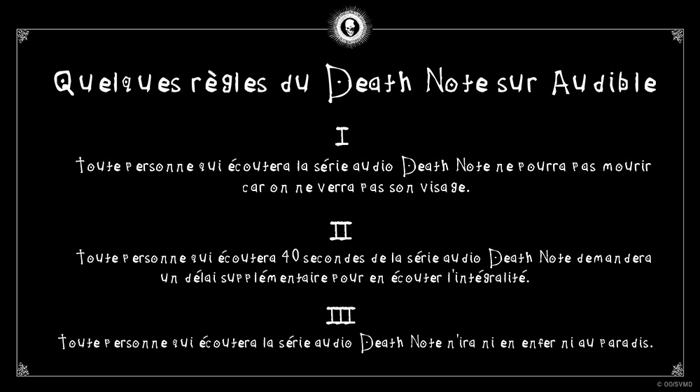 Death note regles