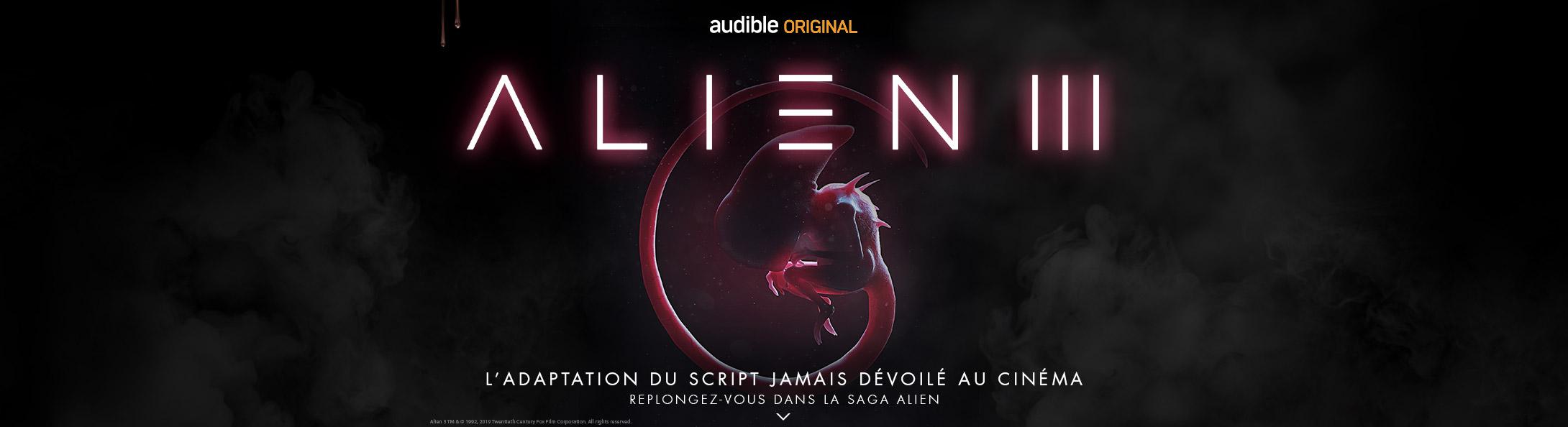 Découvrez les créations omnisonores Alien sur Audible