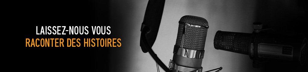 Laissez-nous vous raconter des histoires. Audible Studios.