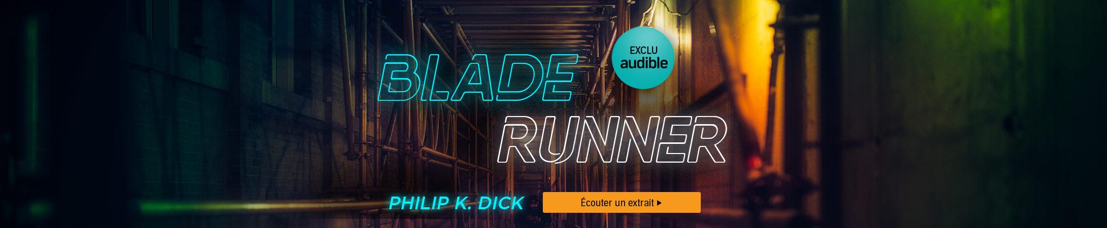 Exclu Audible : Blade Runner