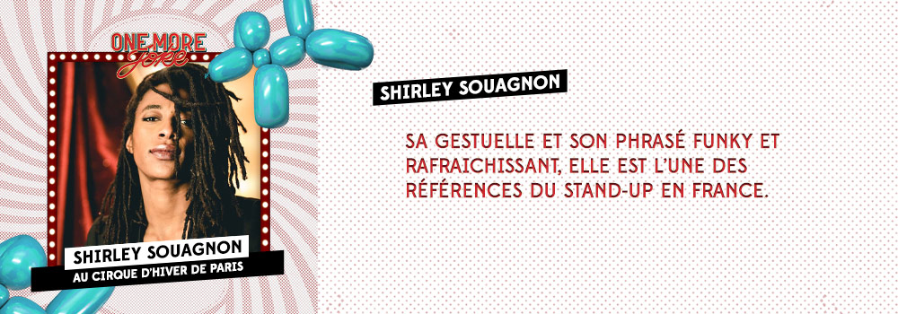 Audible Original One more joke X Cirque d'hiver: Shirley Souagnon