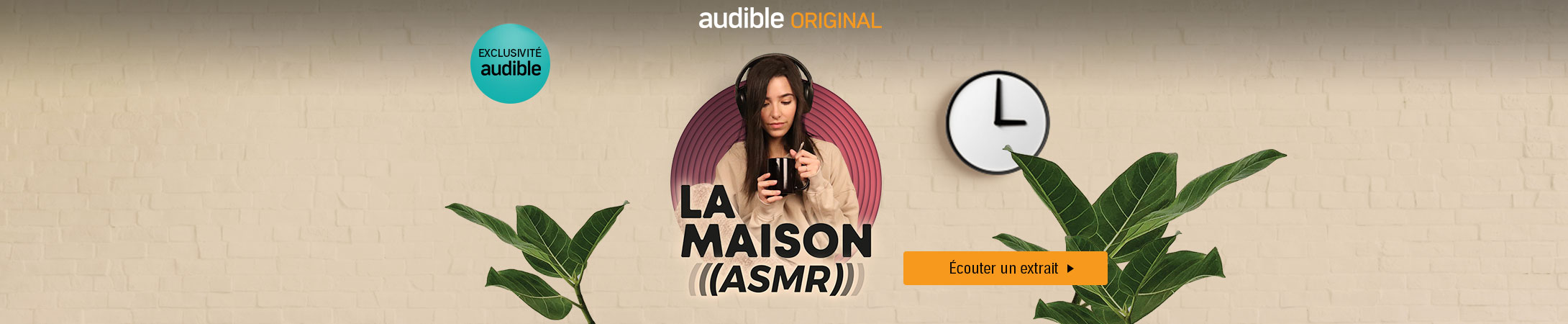 Audible Original : La maison ASMR