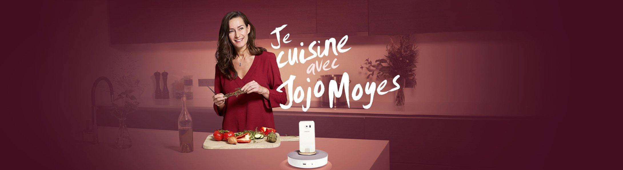 Je cuisine avec Jojo Moyes