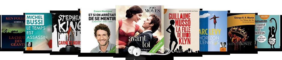 Retrouvez l'ensemble de notre sélection de livres audio !