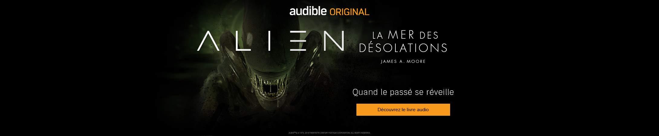 Alien - La mer des désolations en livre audio