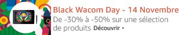 Wacom: de -30% à -50% sur une sélection de produits
