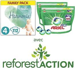 Pampers, Ariel, Gillette : Jusqu'à -30% sur une sélection de produits d'hygiene et entretien de la maison